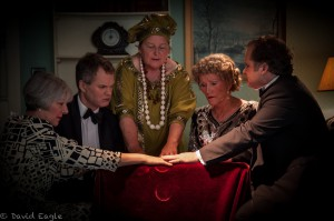 Blithe Spirit Rose Nick Jenni Sally Chris
