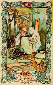 Cindarella illustration Charles Robinson 1900