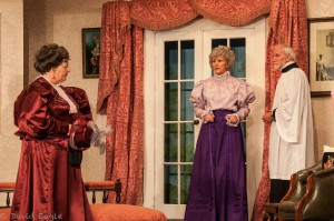 Importance of Being Ernest Lady Bracknell, Miss Prism & Dr Chasuble