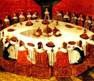 King Arthur & Knights of Round Table