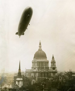 ppelin over St Paul's