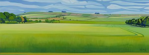 Our Ridgeway View by Anna Dillon
